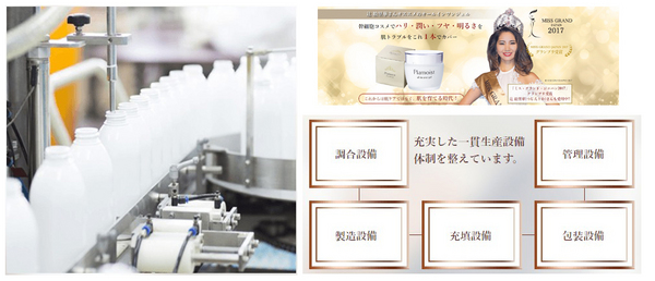 プラモイストの生産設備体制